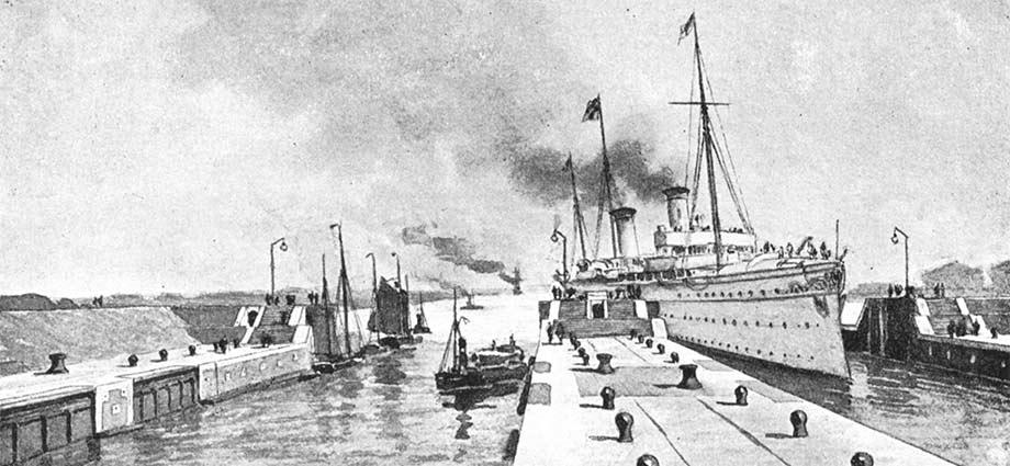 Die Scheuse vom Kaiser-Wilhelm-Kanal