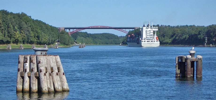Levensauer Hochbrücke bei Kiel